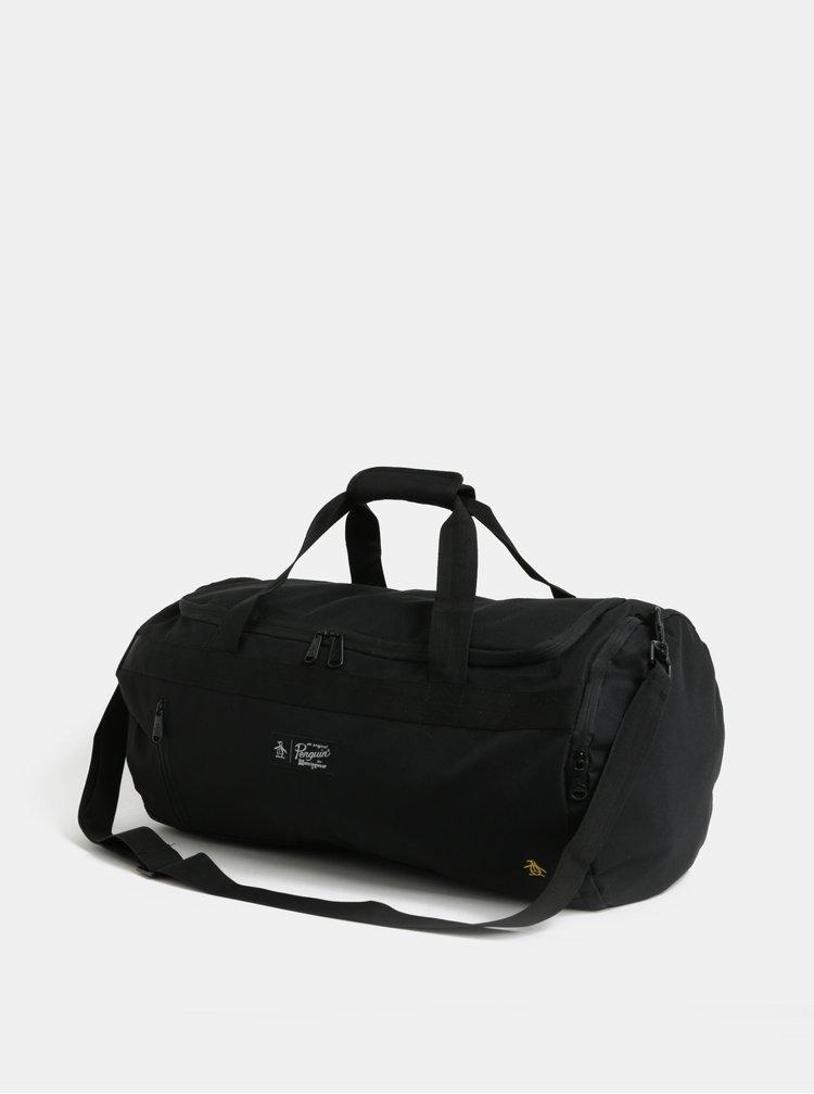 Černá cestovní taška Original Penguin