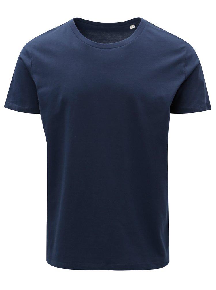 Tmavě modré pánské basic tričko Stanley & Stella
