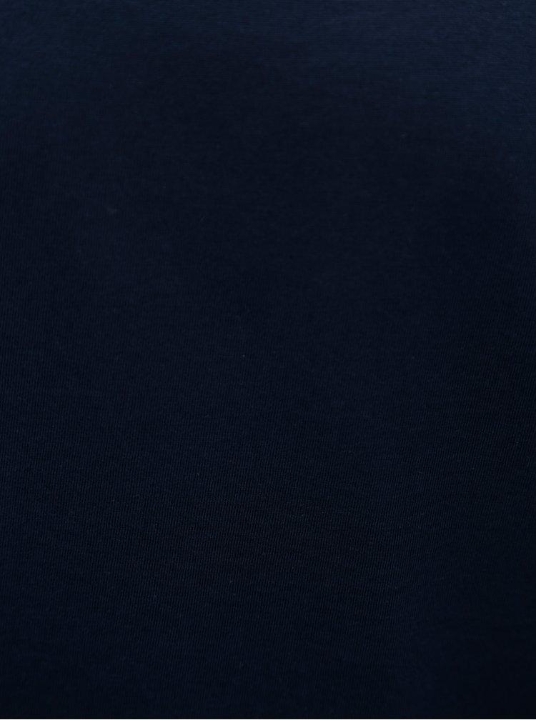Tmavomodré pánske basic tričko Stanley & Stella