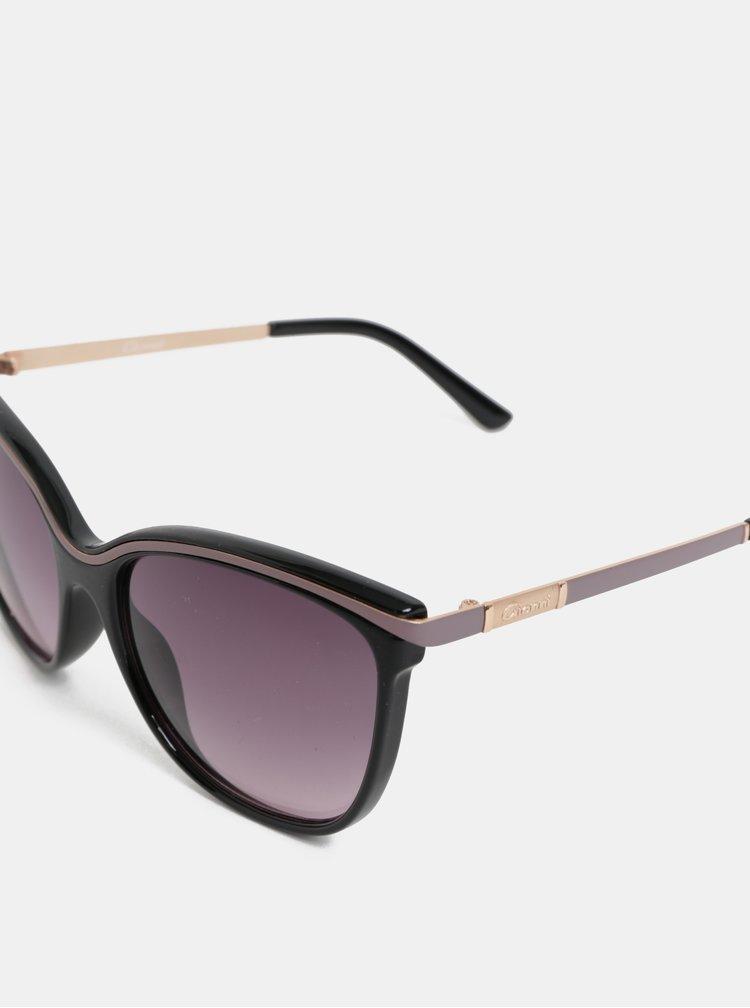 Černé sluneční brýle s pouzdrem Gionni