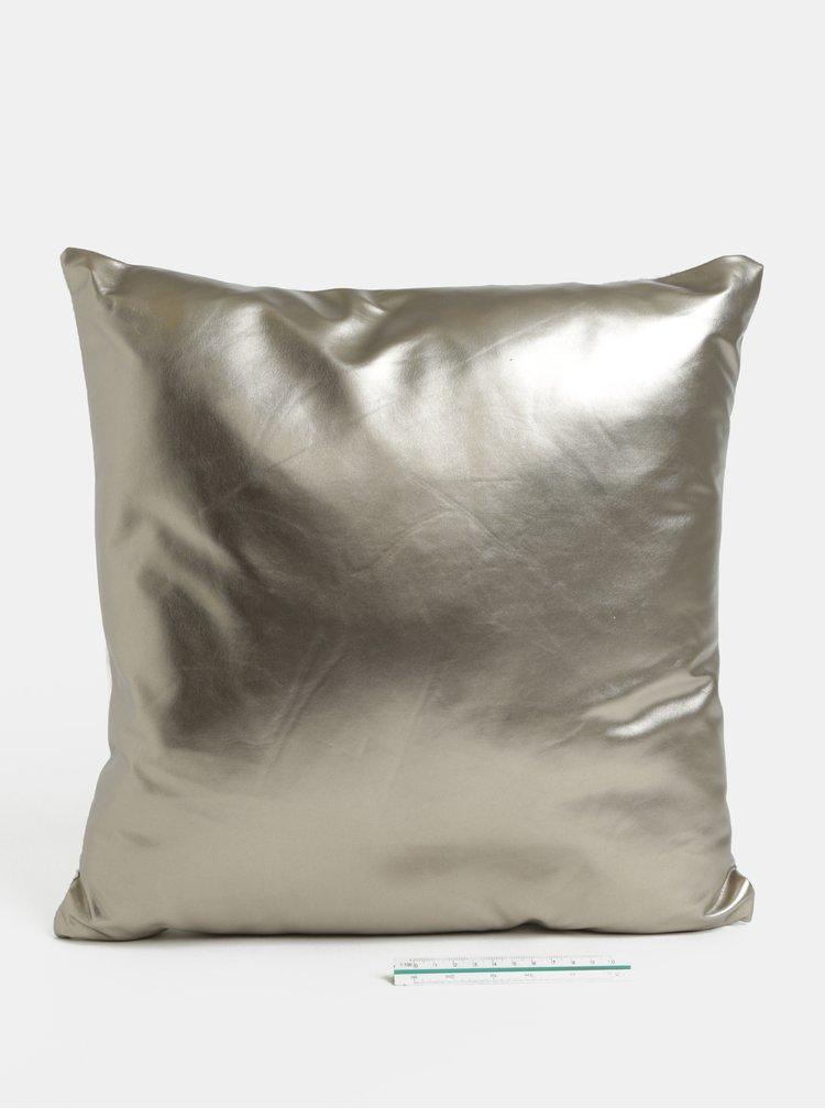 Bílo-šedý metalický polštář s motivem lapače snů SIFCON