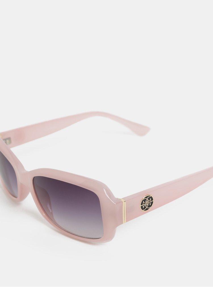 Světle růžové sluneční brýle s pouzdrem Gionni