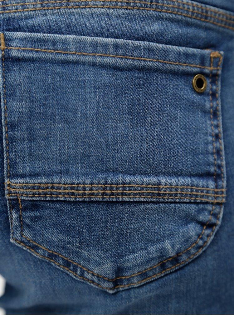 Modré dámské zkrácené slim fit džíny s.Oliver