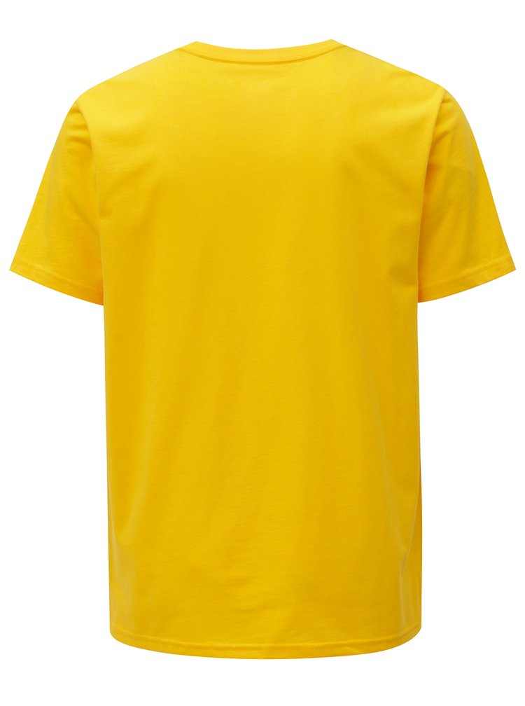 Žluté pánské tričko s potiskem Converse Chevron Tri Color