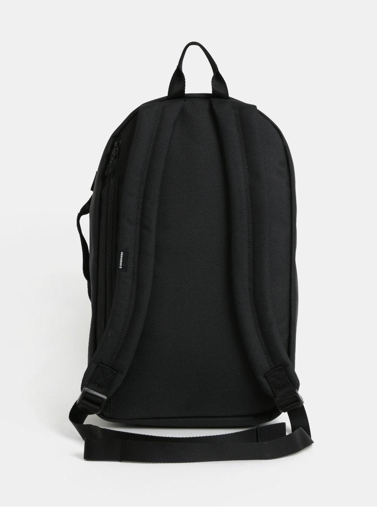 Černý voděodolný batoh s potiskem Converse Street 22 Backpack