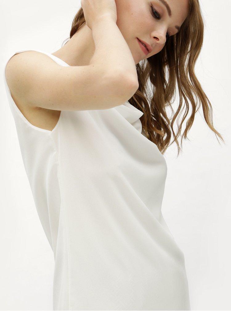 Bílá oversize halenka s pásky na zádech Haily´s Ceyda