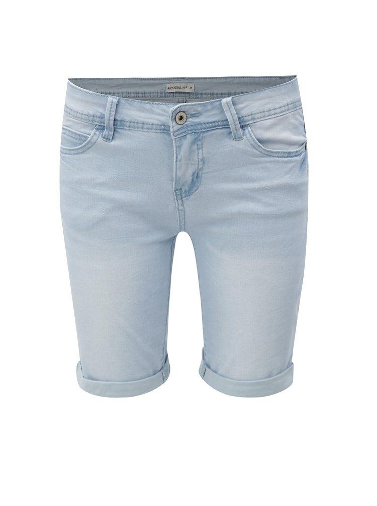Světle modré džínové kraťasy s nízkým pasem Haily's Jenny