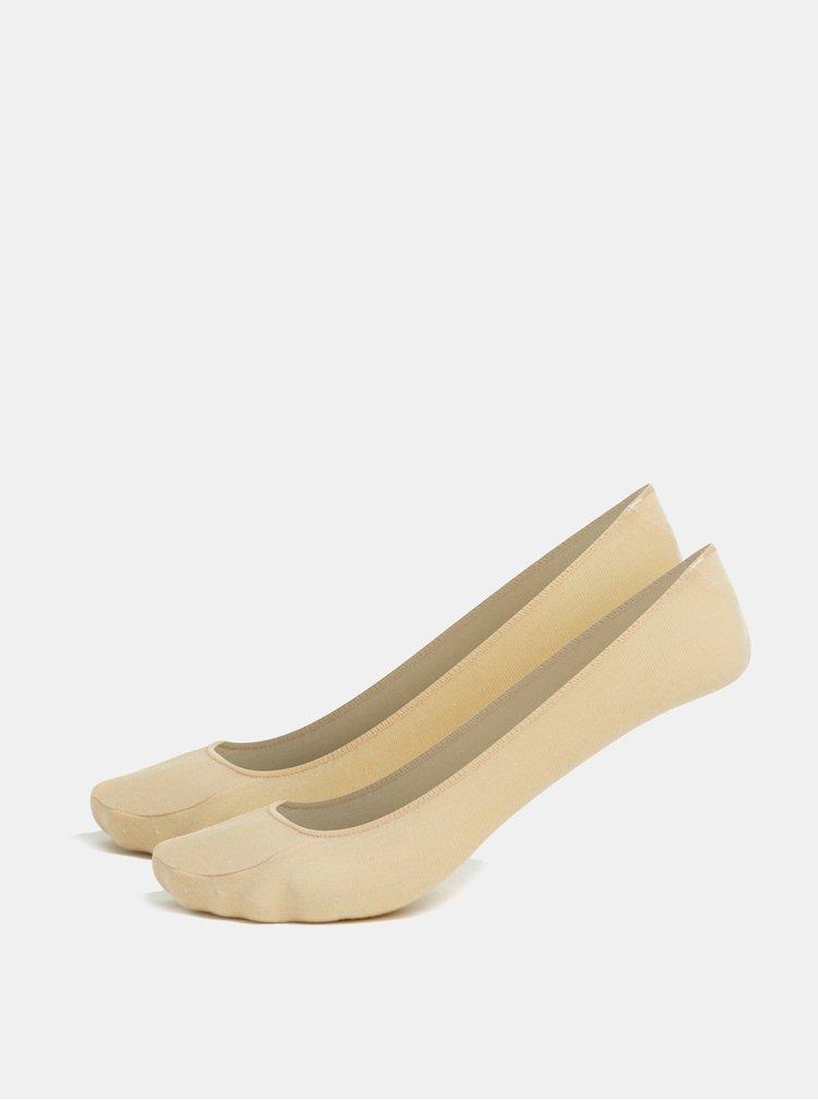 Sada dvou párů ponožek v tělové barvě Andrea Bucci Fourth 42 DEN