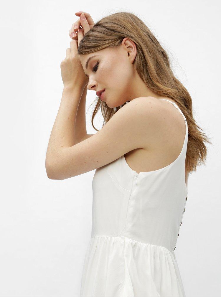 Bílé šaty na ramínka Haily´s Amara