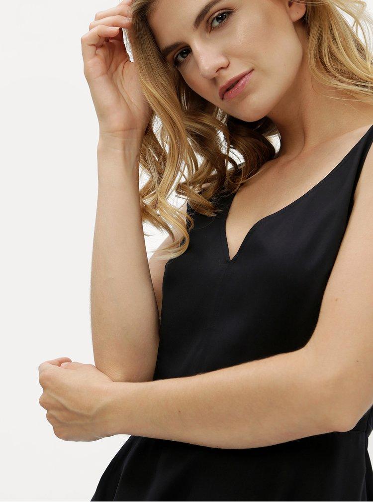 Černé áčkové šaty Calvin Klein Jeans