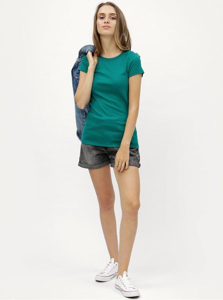 Zelené tričko s krátkým rukávem Dorothy Perkins