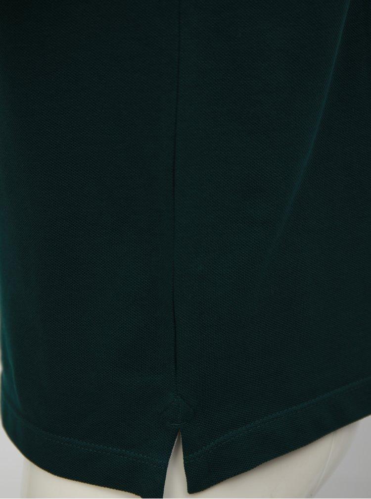 Zelené pánské regular fit polo tričko s.Oliver