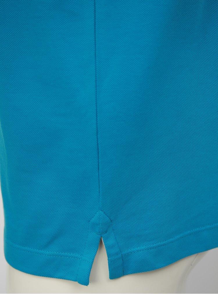 Tricou barbatesc polo albastru regular fit s.Oliver