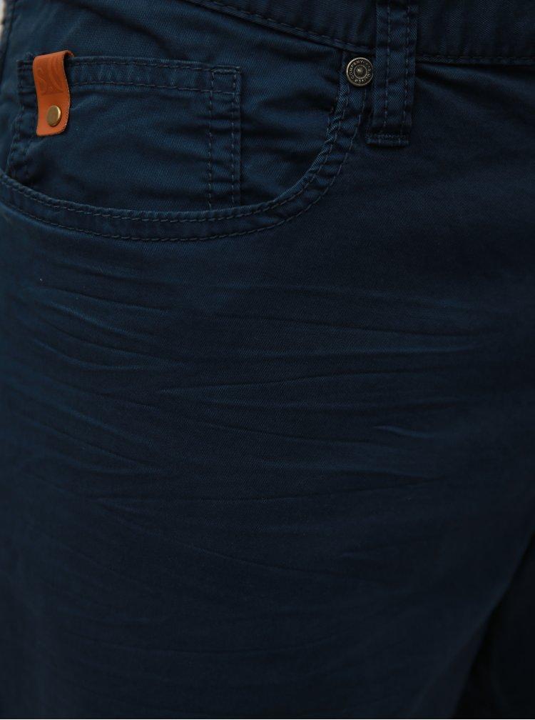 Tmavě modré pánské regular fit kraťasy s.Oliver