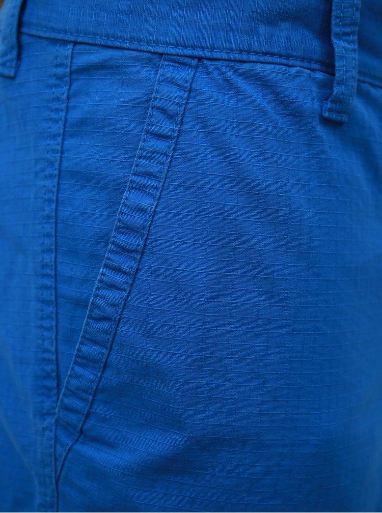 Modré pánské straight kraťasy s.Oliver
