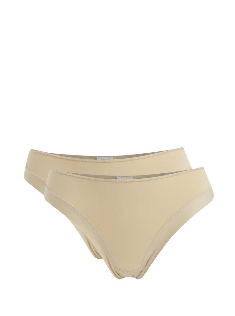 Súprava dvoch nohavičiek v telovej farbe Bellinda