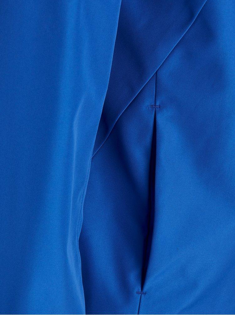Modrá voděodolná bunda s kapucí Jack & Jones Rio