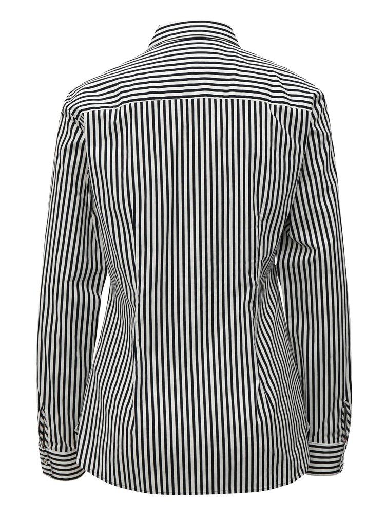 Černo-bílá dámská pruhovaná košile Tommy Hilfiger