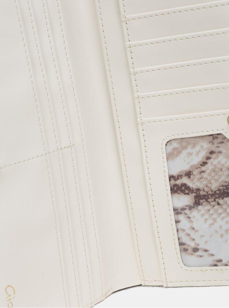 Velká prošívaná peněženka v růžovozlaté barvě Gionni Trina