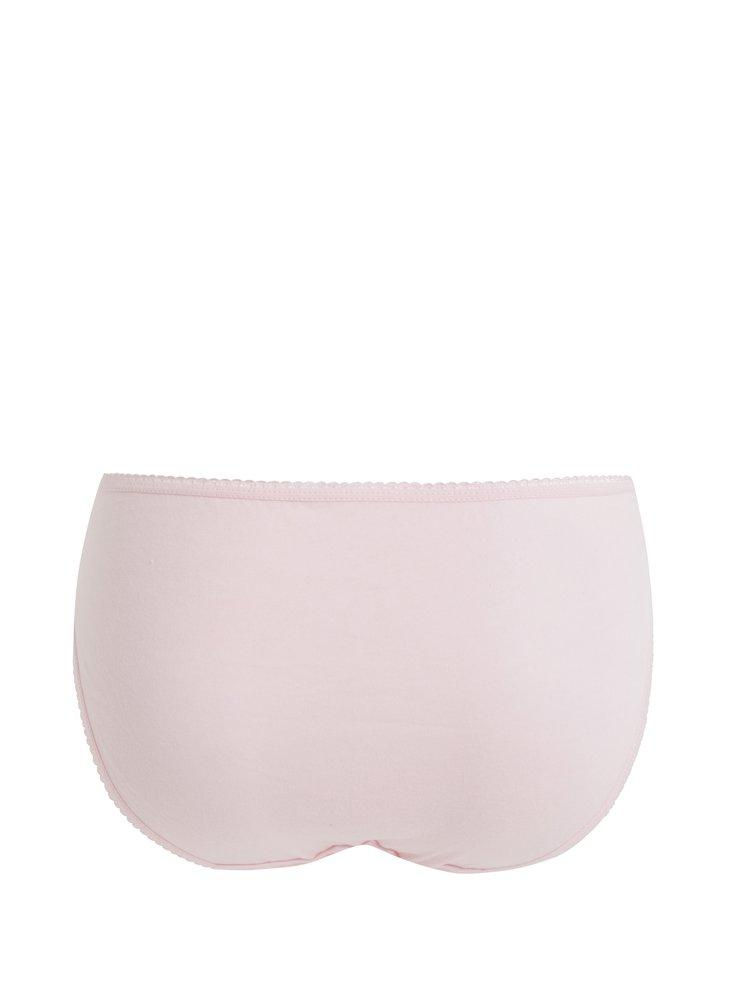 Set de 5 chiloti gri, roz deschis si alb M&Co