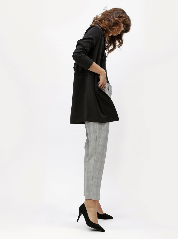 Pantaloni gri cu model Dorothy Perkins