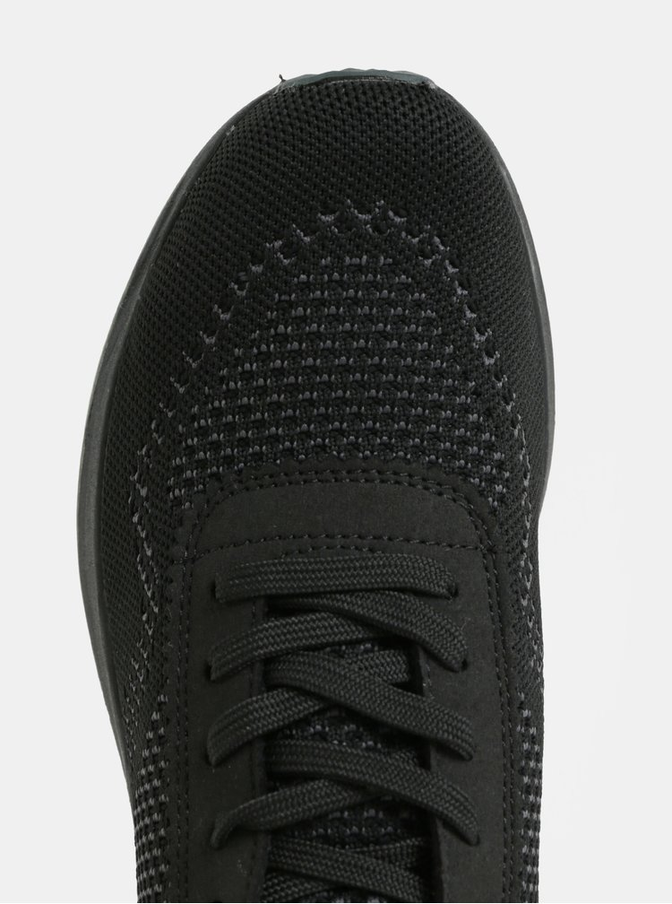 Šedo-černé tenisky Tamaris