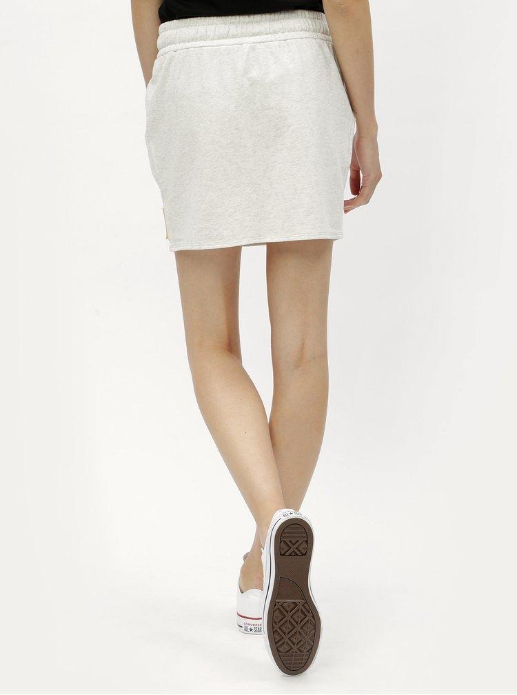Sivá mikinová sukňa s nášivkou Calvin Klein Jeans Kildri
