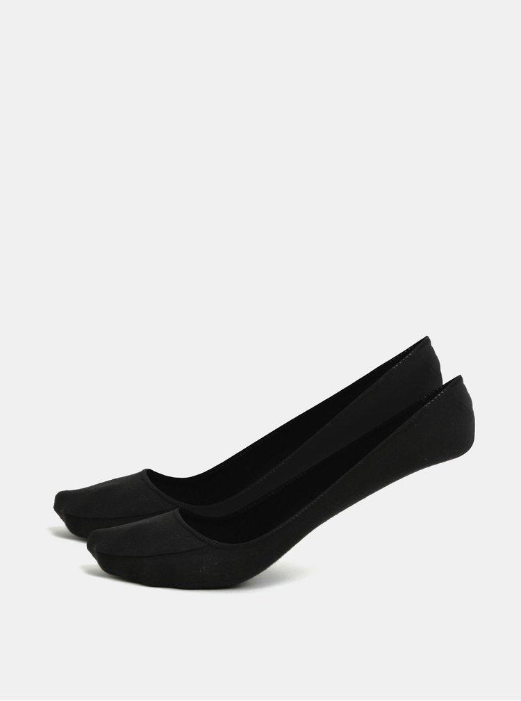 Sada dvou párů černých ponožek Andrea Bucci Third 90 DEN