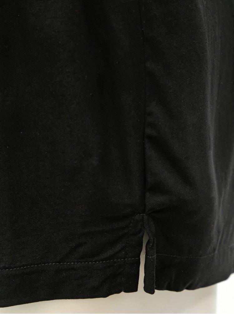 Černé kraťasy s vysokým pasem Jacqueline de Yong Victory