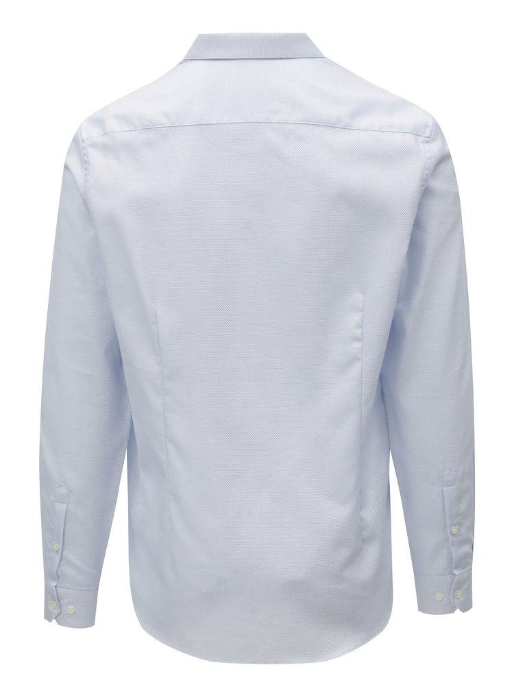 Světle modrá slim fit košile Burton Menswear London