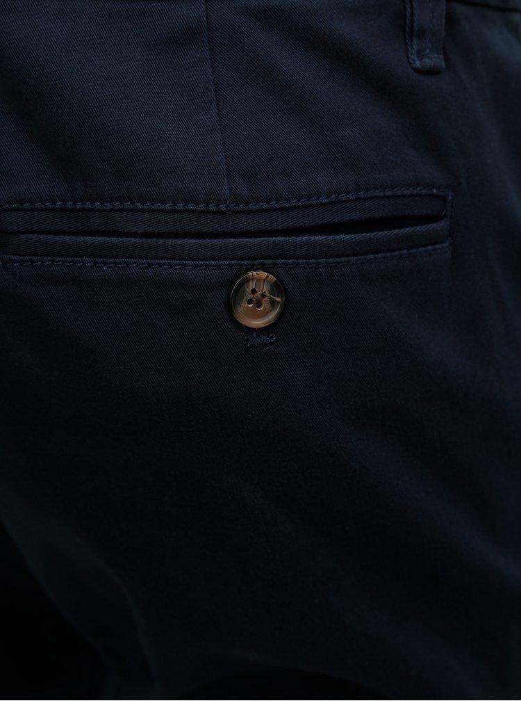 Tmavomodré skinny chino nohavice Burton Menswear London