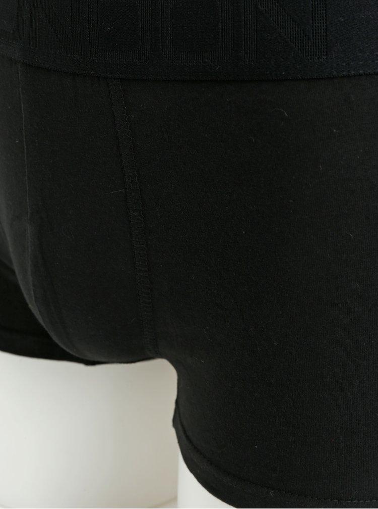 Sada tří boxerek v černé a šedé barvě Burton Menswear London