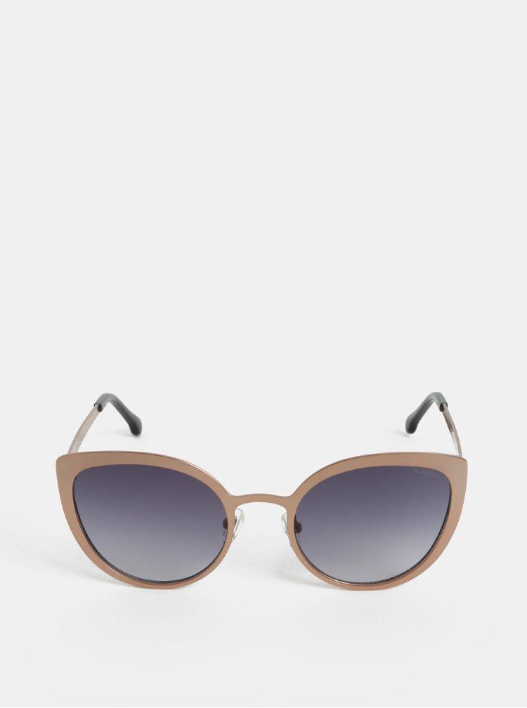 Béžové dámské sluneční brýle Komono Logan