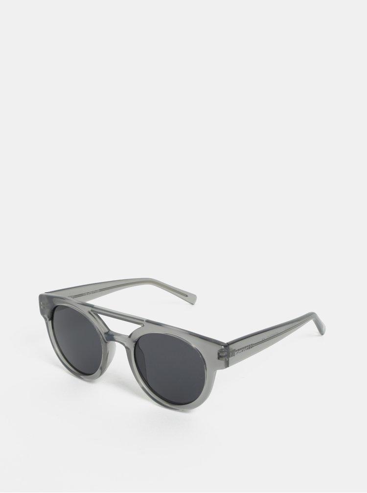 Šedé dámské sluneční brýle Komono Dreyfuss