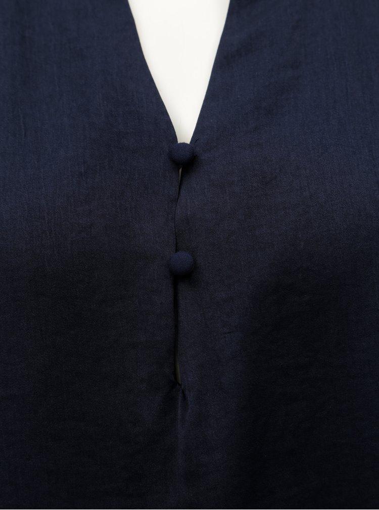 Tmavě modrá halenka VERO MODA Marella