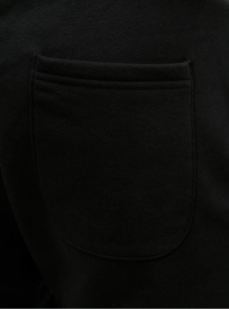 Černé tepláky s potiskem Jack & Jones