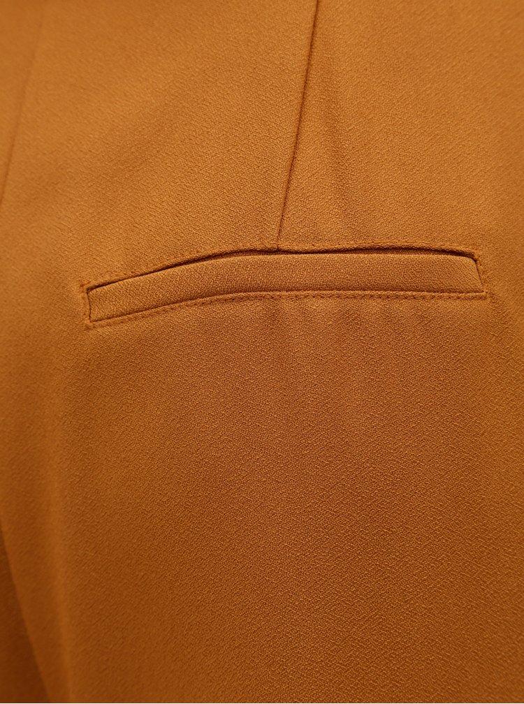 Oranžové culottes s opaskom VERO MODA Kim