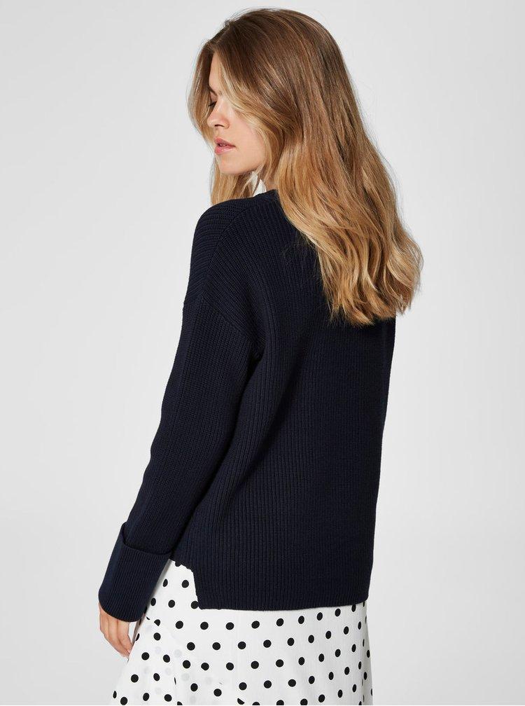Modrý svetr Selected Femme