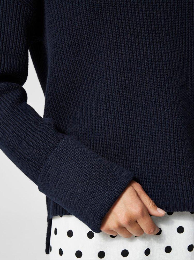 Tmavě modrý svetr Selected Femme