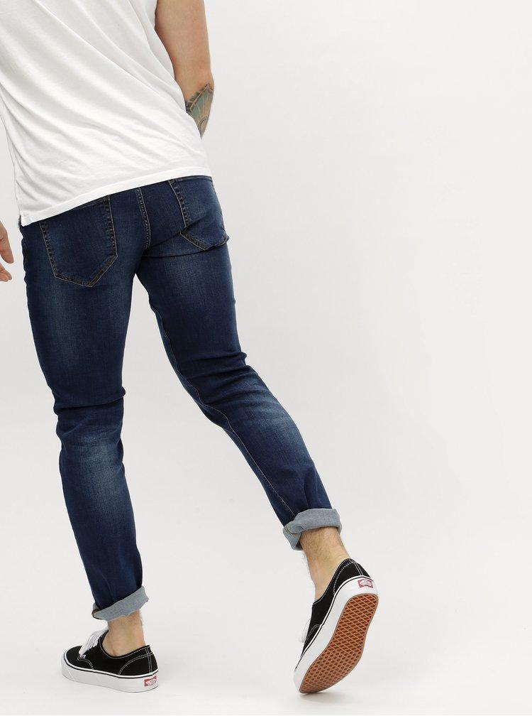 Modré slim džíny ONLY & SONS Loom