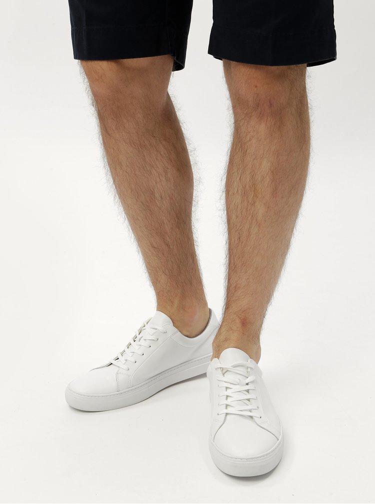 Pantofi sport albi din piele pentru barbati - Vagabond Paul