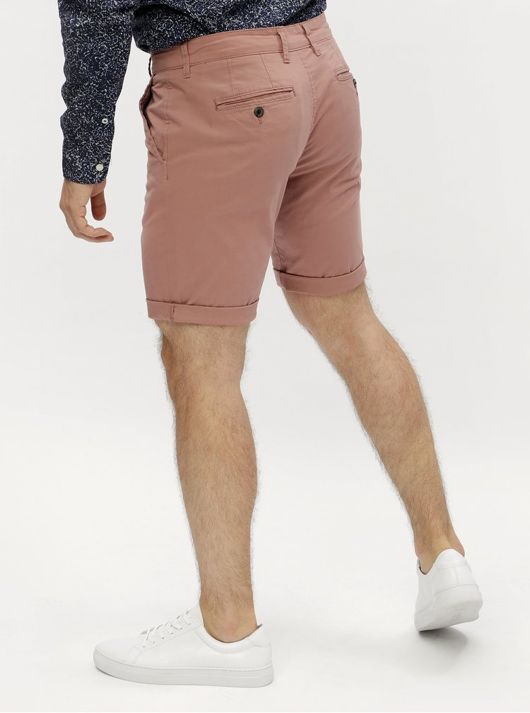 Pantaloni scurti chino roz - Selected Homme Paris