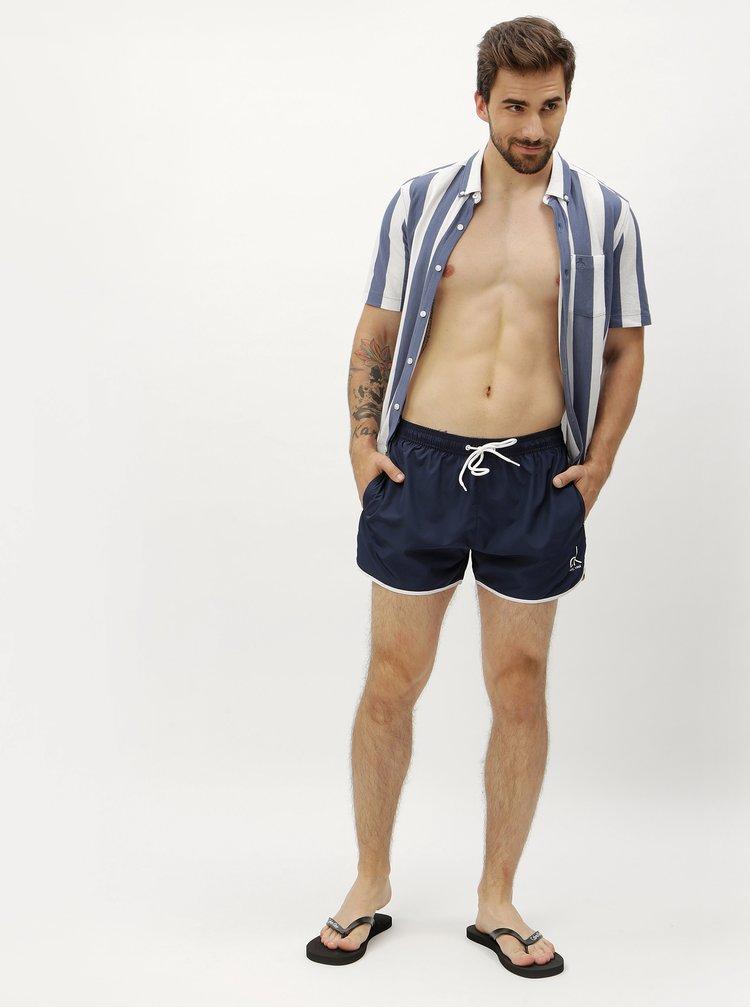 Pantaloni scurti de baie albastru inchis Calvin Klein Underwear