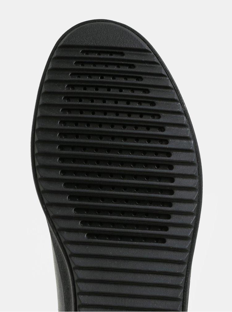 Černé dámské kotníkové tenisky Geox