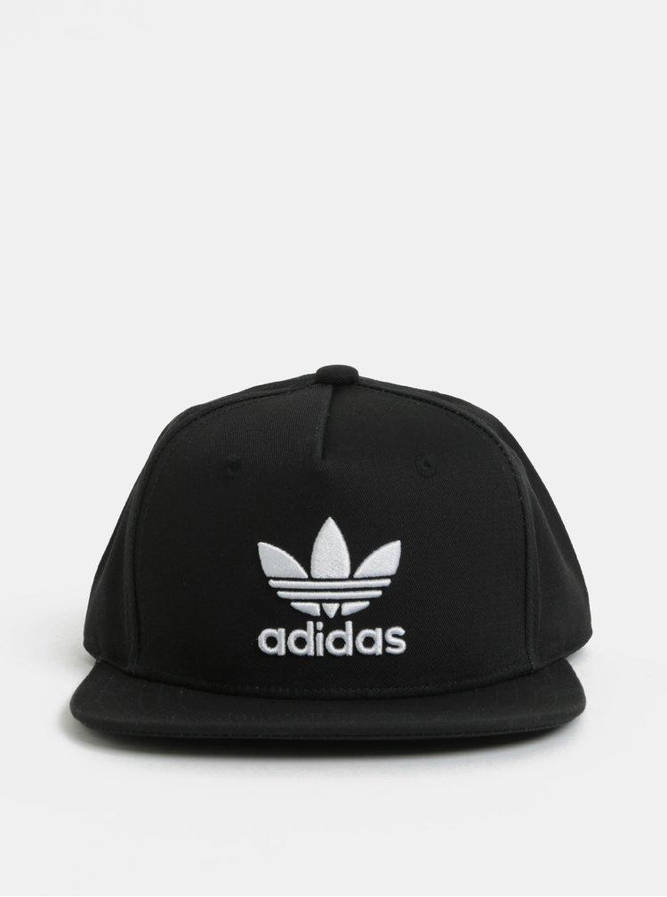 Černá dětská kšiltovka adidas Originals Trefoil
