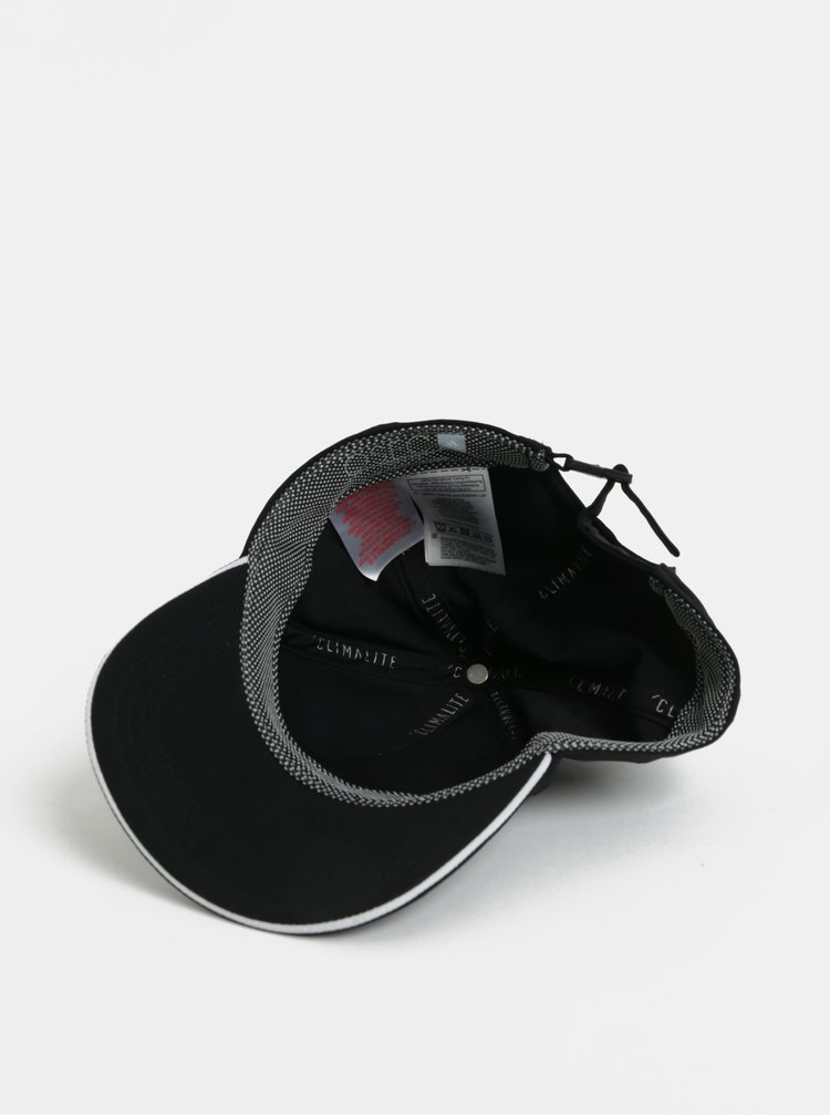 Černá unisex kšiltovka adidas Performance Climalite