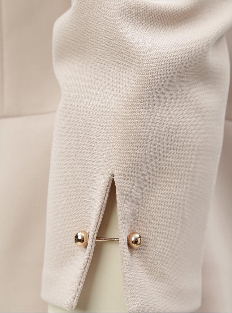 Béžové sako s manžetovými knoflíky Dorothy Perkins