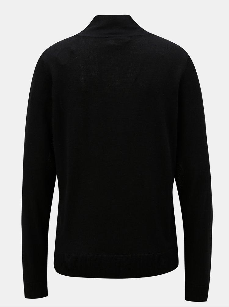 Černý svetr VILA Viwendis