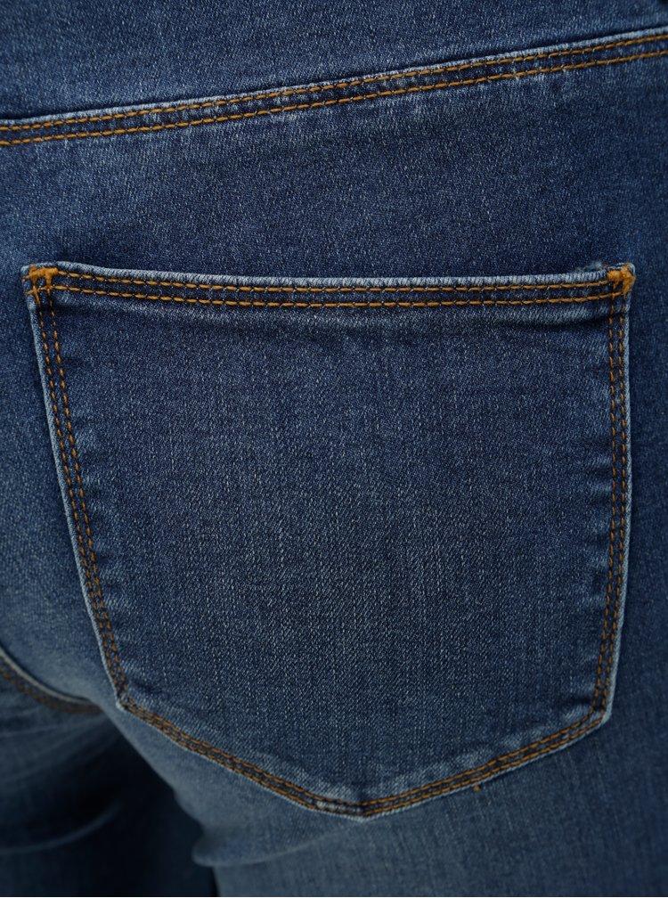 Modré slim fit džíny VILA Vicommit