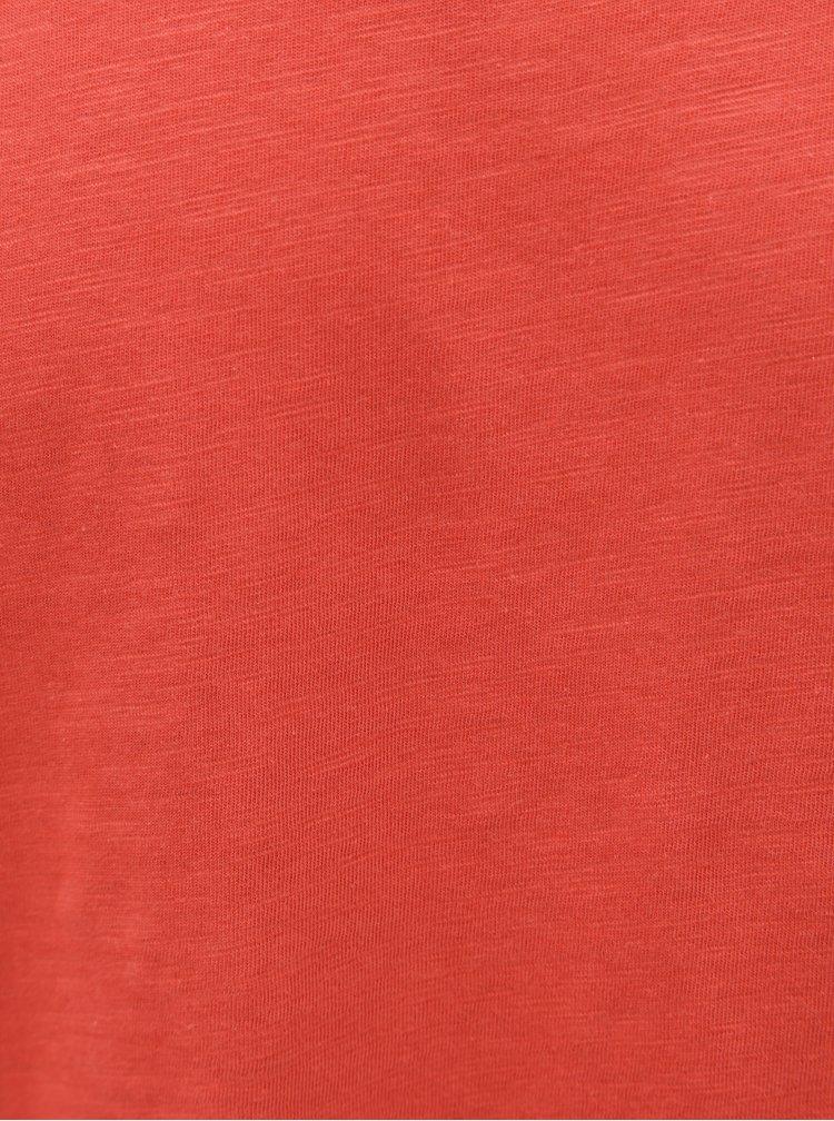 Červené tričko Jack & Jones Bas